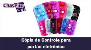 Cópia de Controle para Portão Eletrônico